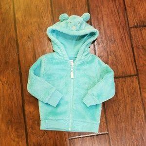 Carter's fleece hooded top